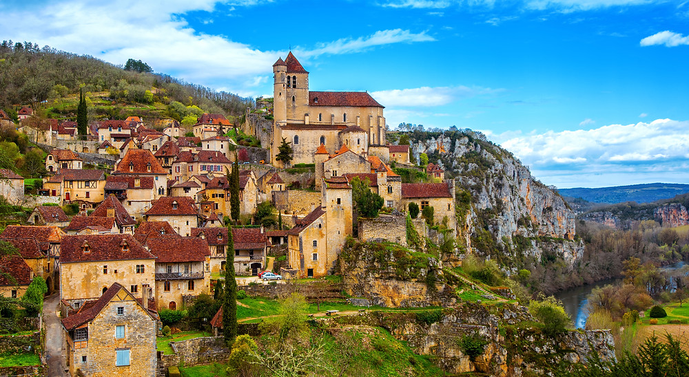 Saint-Cirq-Lapopie, one of France's prettiest villages