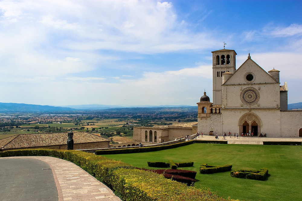 the Basilica of St. Francis of Assisi