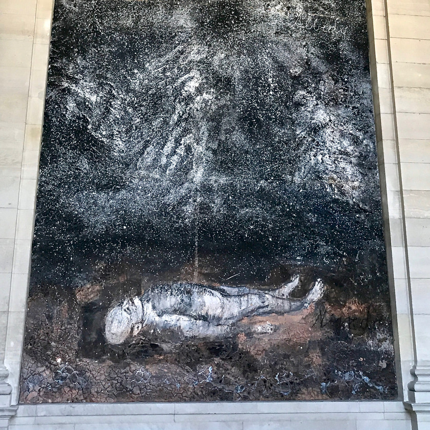 Anselm Kiefer's 1995 Athanor at the Louvre