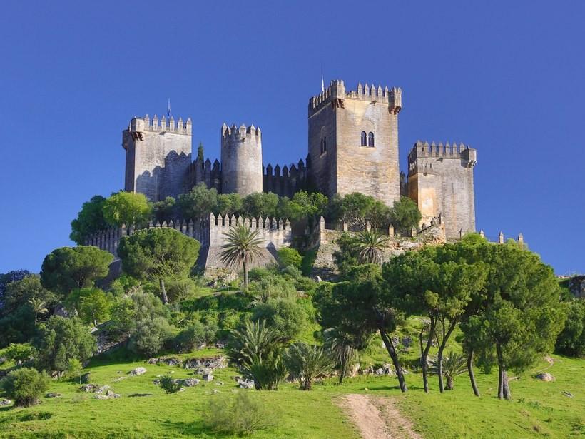 the 8th century Castillo Almodovar del Rio outside Cordoba