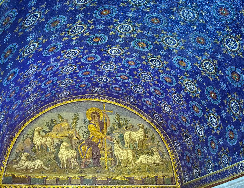 Interior of the Mausoleum of Galla Placidia