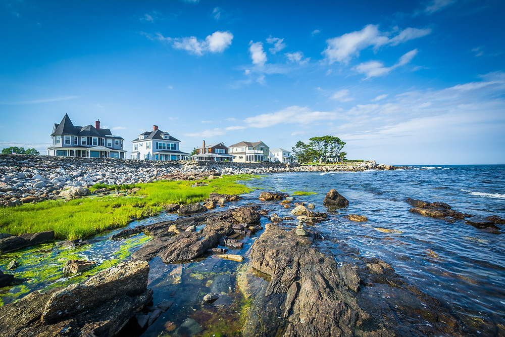 the elegant town of Rye New Hampshire