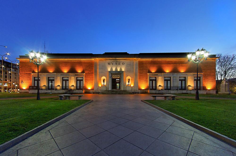 the Fine Arts Museum of Bilbao
