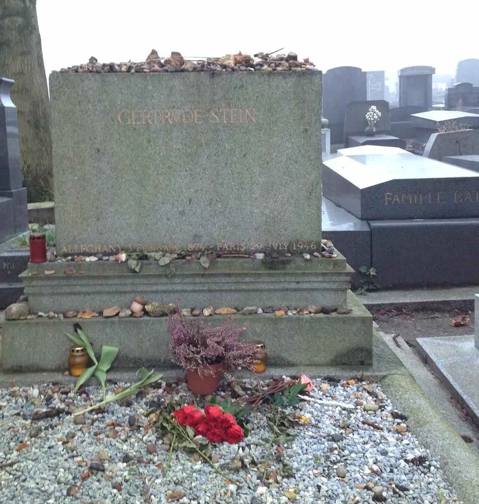 Gertrude Stein's grave