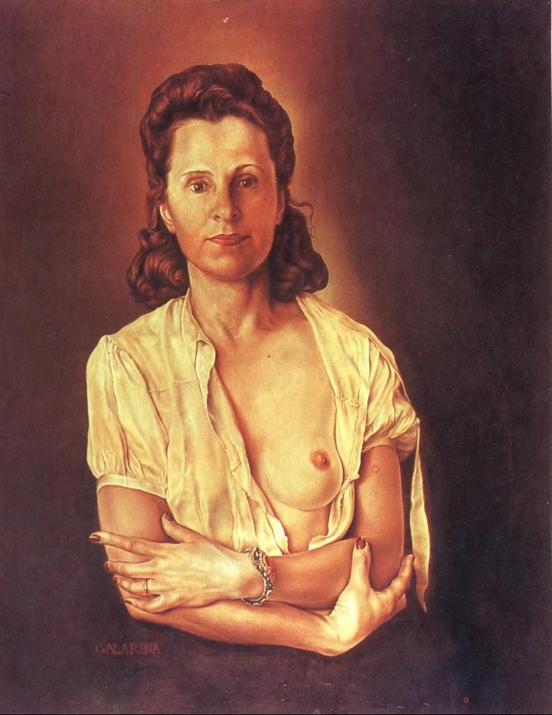 Salvador Dali, Galarina, 1945