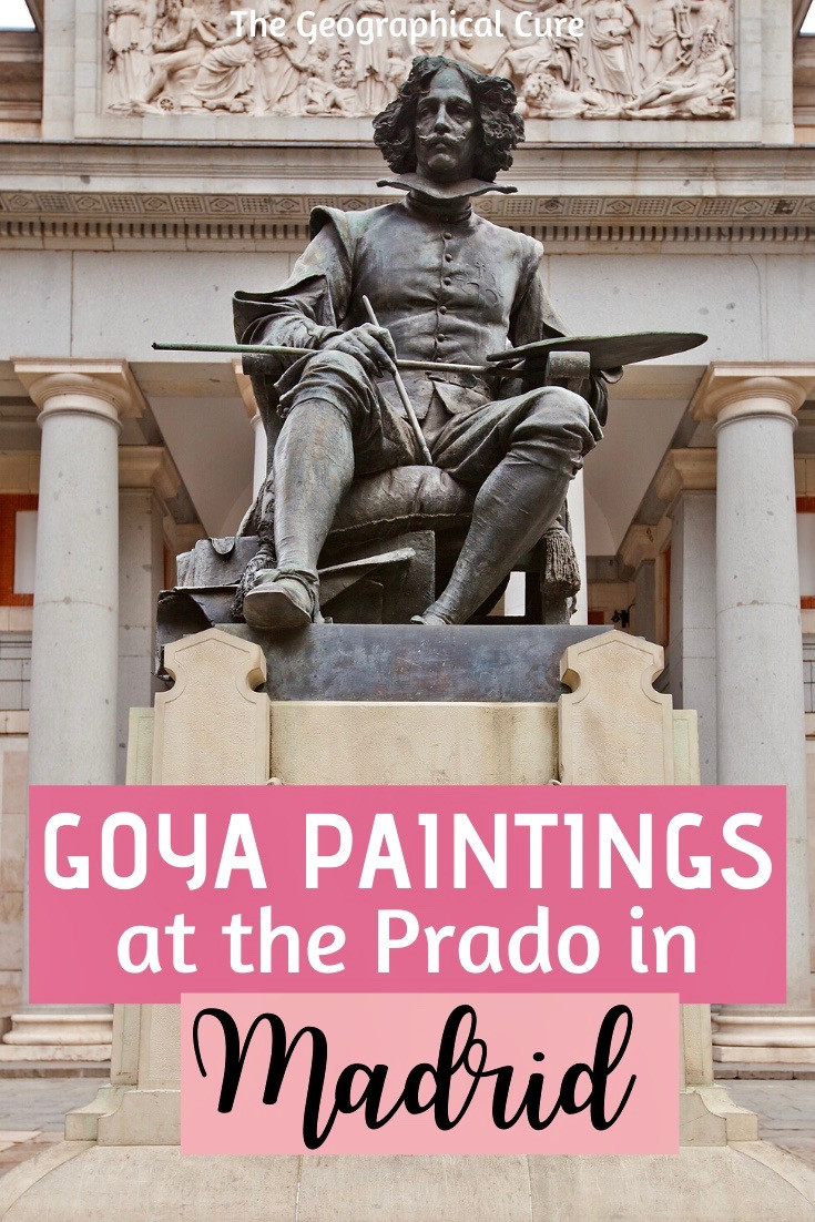 Goya's Black Paintings at the Prado museum in Madrid Spain