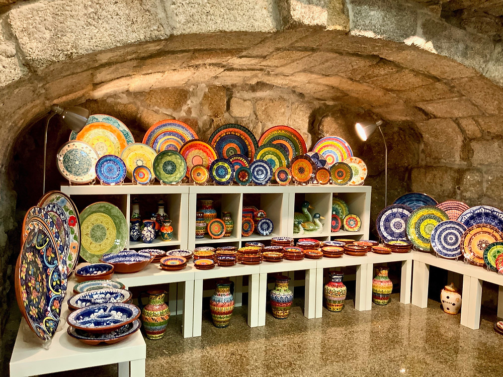 a lovely ceramics store in the Ribeira