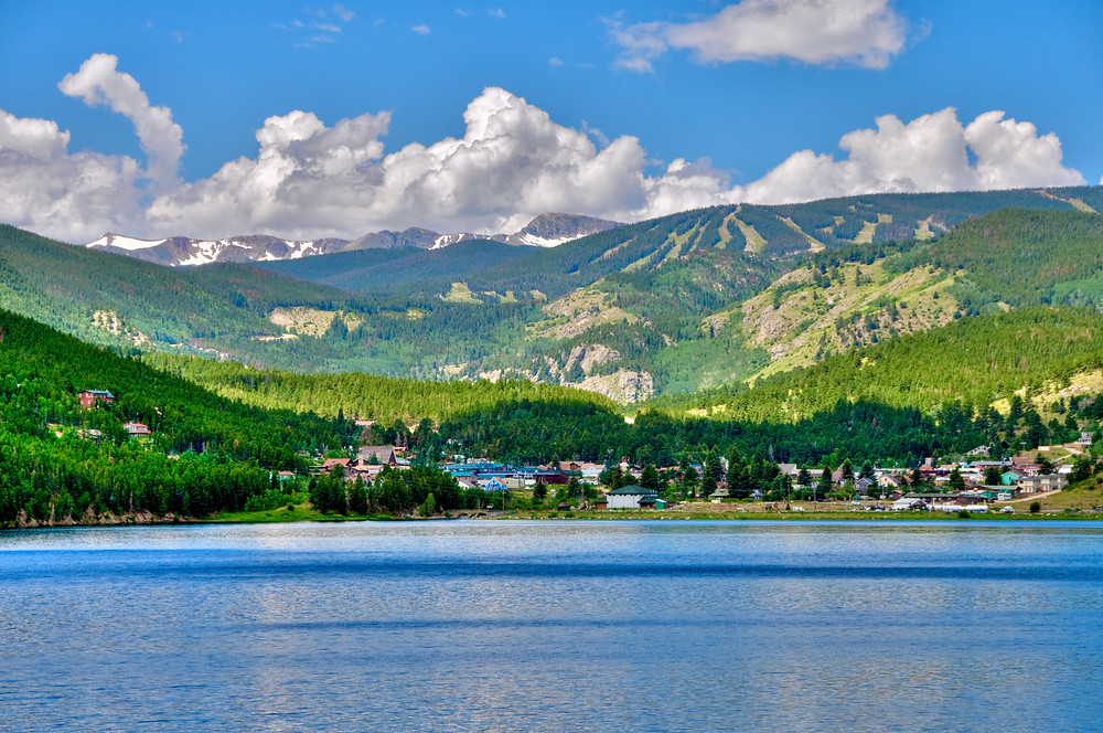 the picturesque town of Nederland outside Boulder