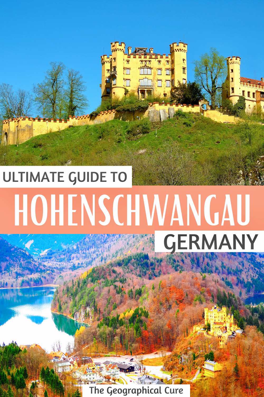 visitor's guide to Hohenschwangau Castle in Bavaria Germany