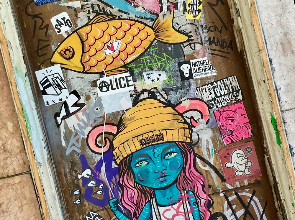 street art in El Raval