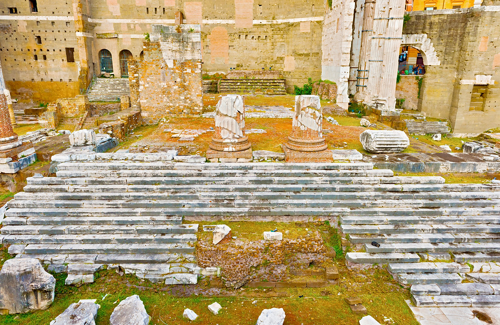 ruins of the Temple of Mars Ultor