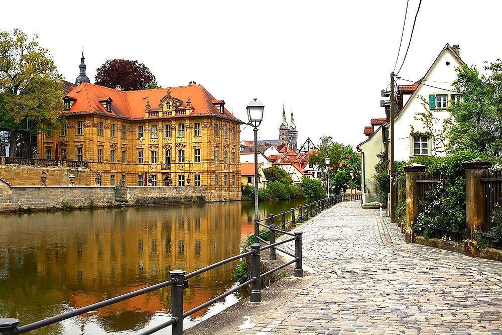 view of Bamberg's old town