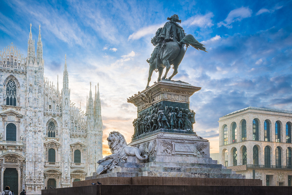 Ercole Rosa, Equestrian Statue of Vittorio Emmanuel II, 1896