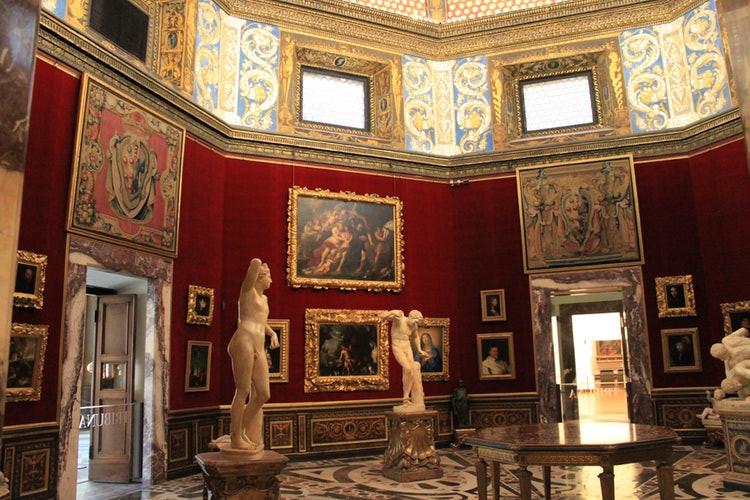 Tribune Room in the Uffizi