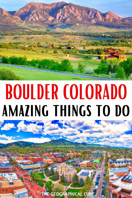 guide to visiting Boulder Colorado