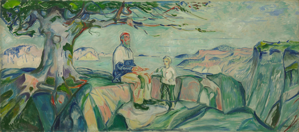 Edvard Munch, History, 1911-16, was soon recovered but many other works missing from the student village have never been seen again.
