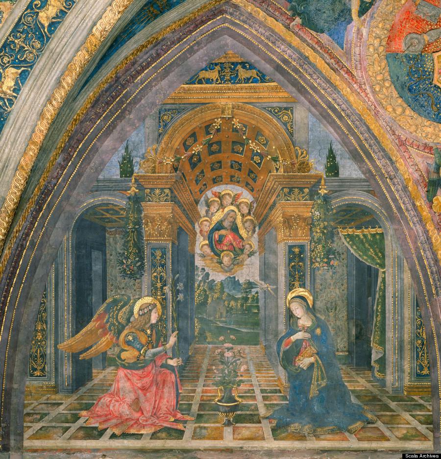 Pinturicchio, Annunciation, 1492