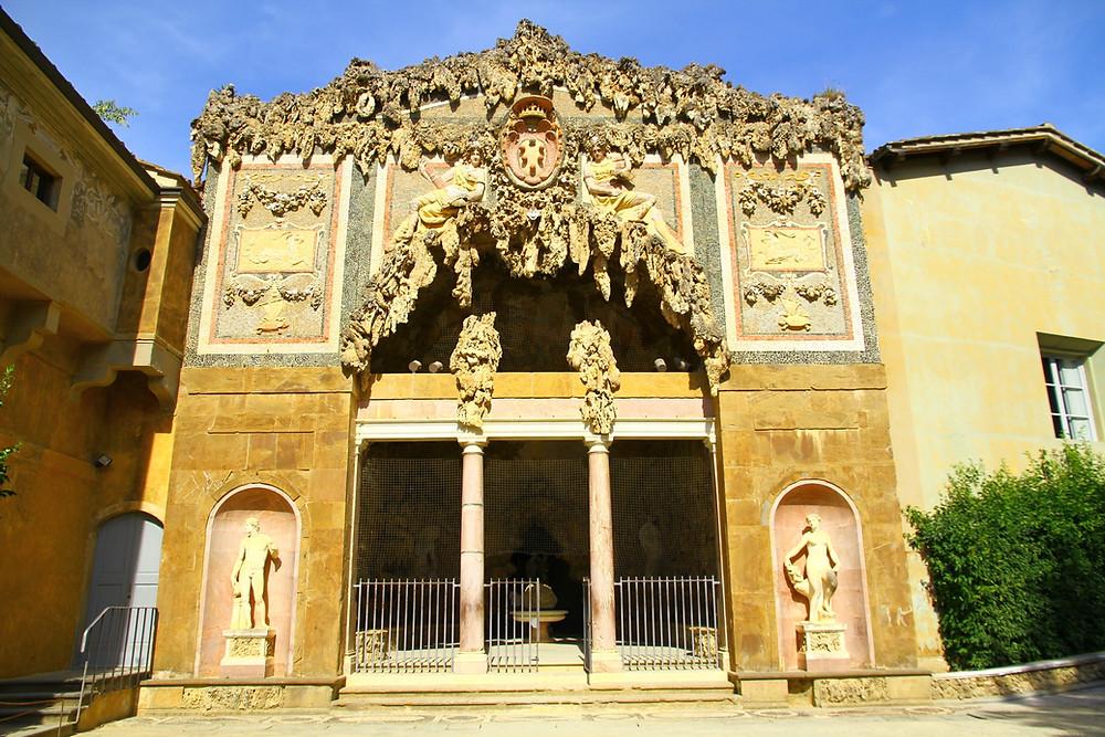 the Grand Grotto in the Boboli Gardens