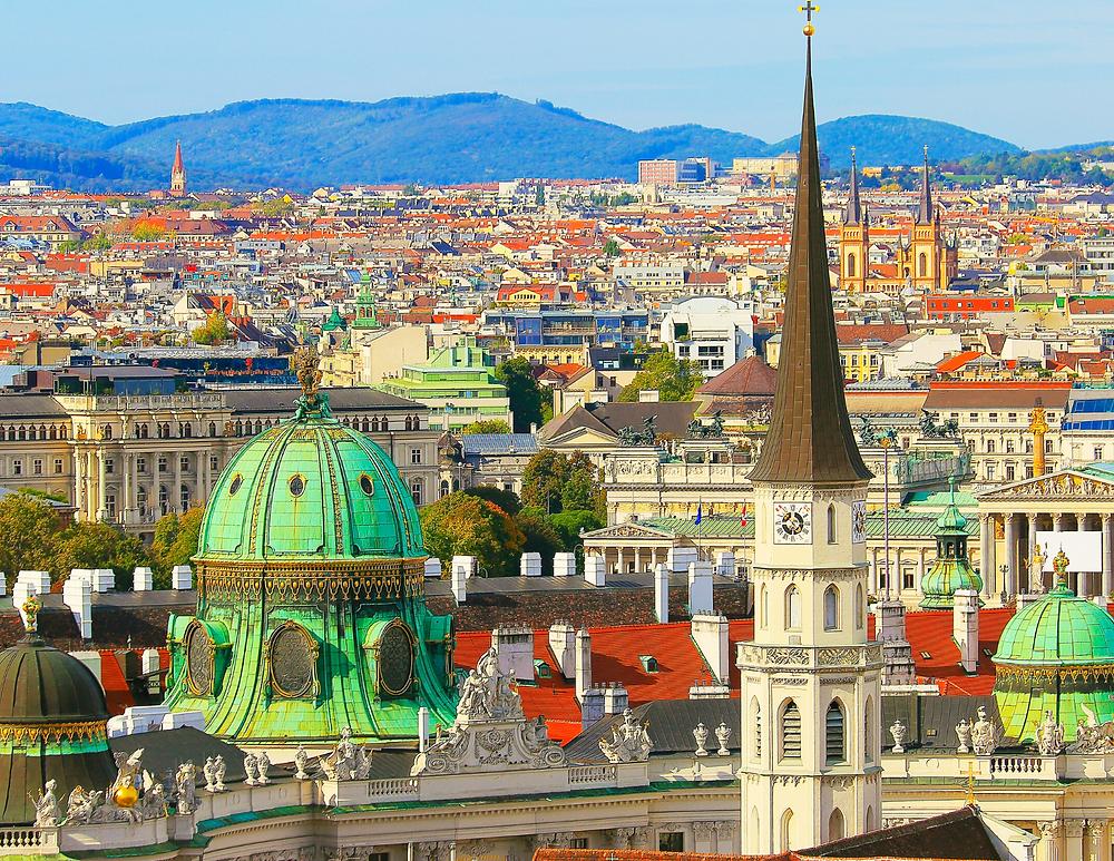 cityscape of Vienna