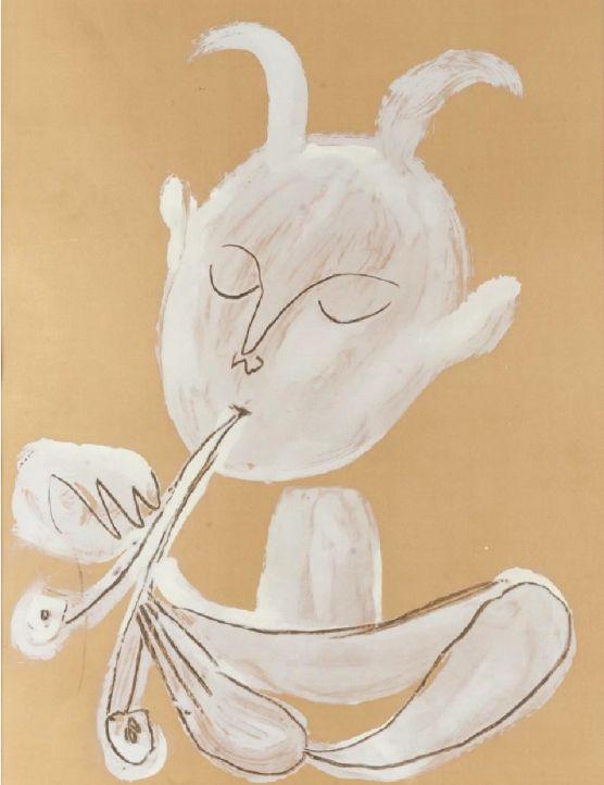 Pablo Picasso, Faune Blanc, 1960