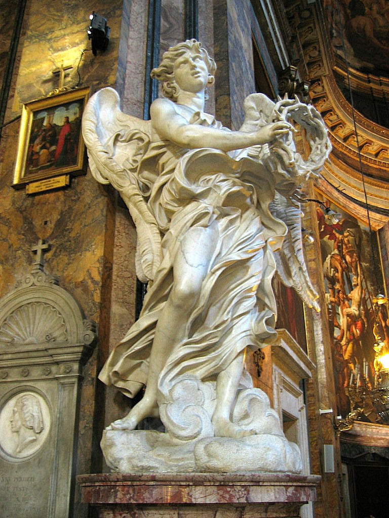 Bernini, The Angel With the Crown of Thorns, 1668