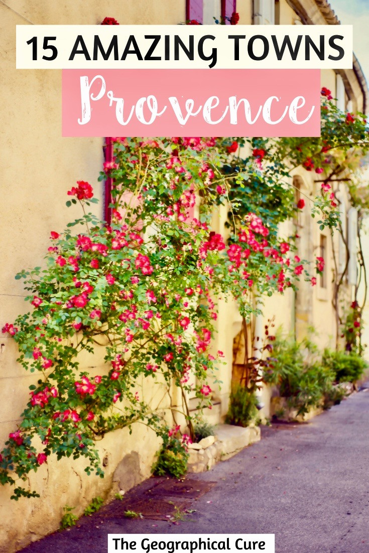 15 amazing hilltop villages and must see sites in the Luberon Valley of Provence
