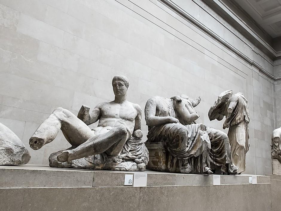 Elgin Marbles in the British Museum