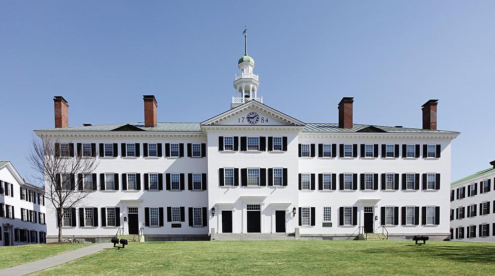 Dartmouth Hall on the Dartmouth Green