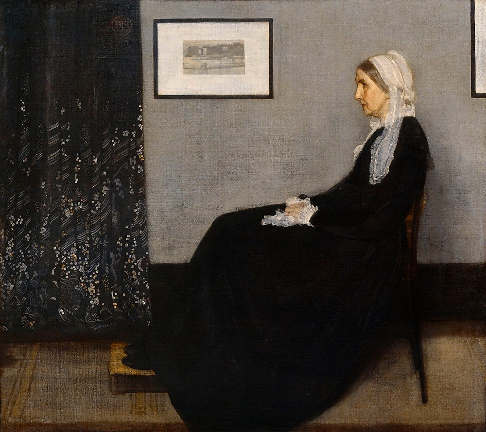 James Whistler, Whistler's Mother, 1871
