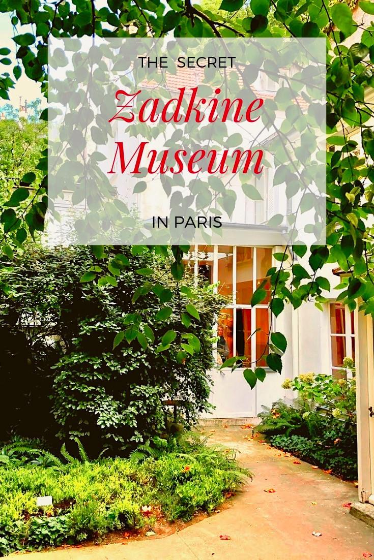 The Secret Zadkine Museum in Paris
