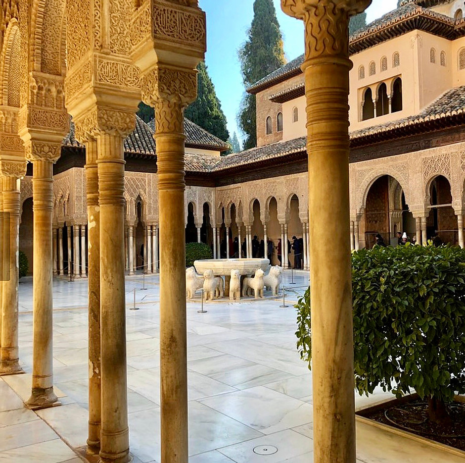 Courtyard of the Lions in the Nasrid Palace