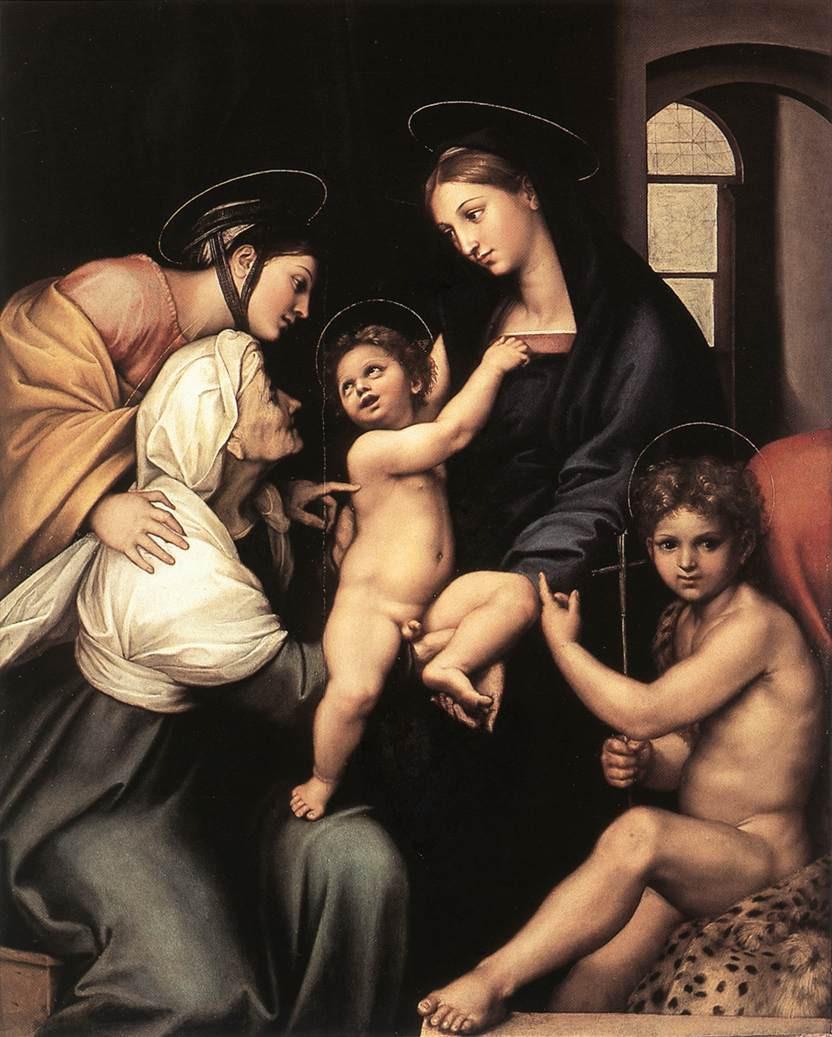 Raphael, Madonna dell'Impanata, 1513