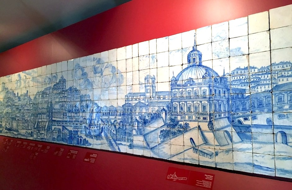Grand Panorama of Lisbon in the National Tile Museum