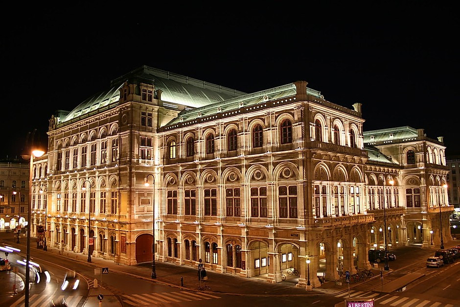 Statsopera, one of Europe's most beautiful opera houses