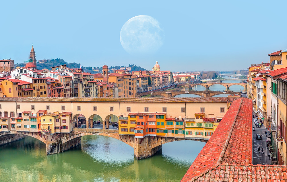 cityscape of Florence, one of Italy's most beautiful cities