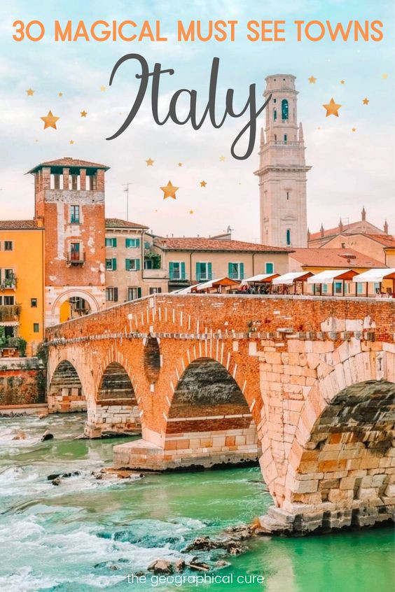 Magical Must See Towns in italy