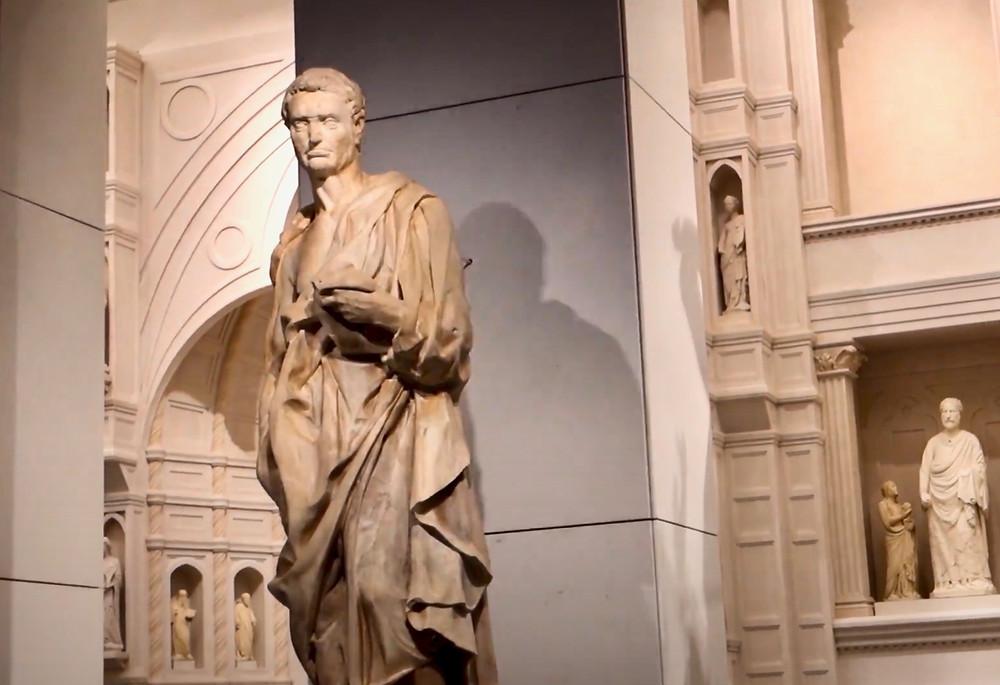 Donatello's Jeremiah in Florence's Duomo Museum