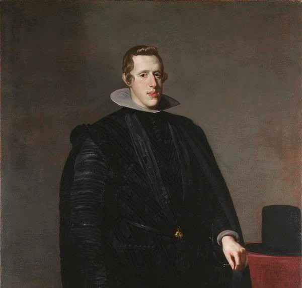 Diego Velazquez, King Philip IV of Spain, 1628-29 -- in the Titian Room