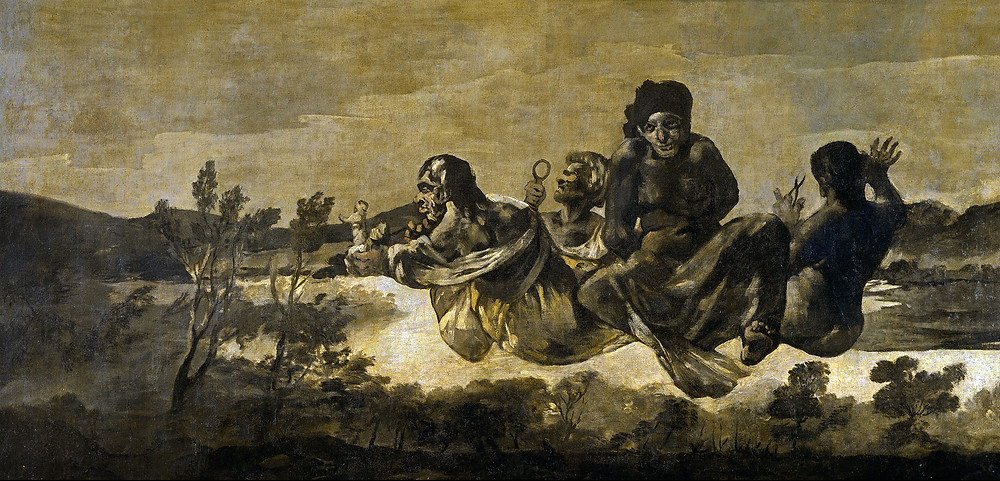 Fransisco Goya, The Fates, 1819-23