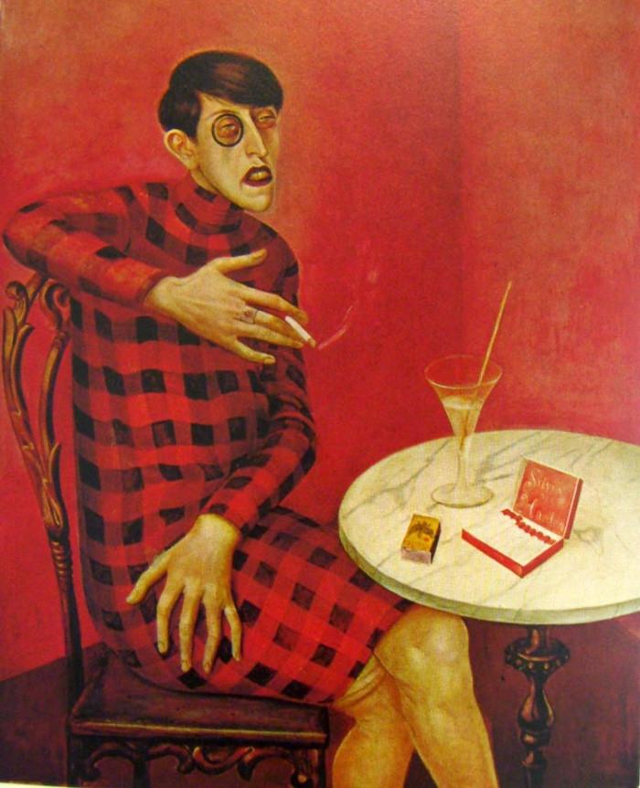 Portrait of the Journalist Sylvia von Harden, 1926, Otto Dix