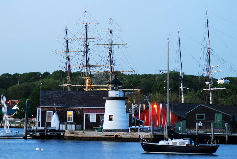 Mystic Seaport Lighthouse