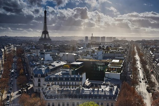 Paris, my first stop on the trip