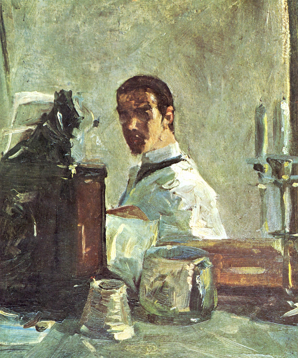 Toulouse-Lautrec Self Portrait, 1880