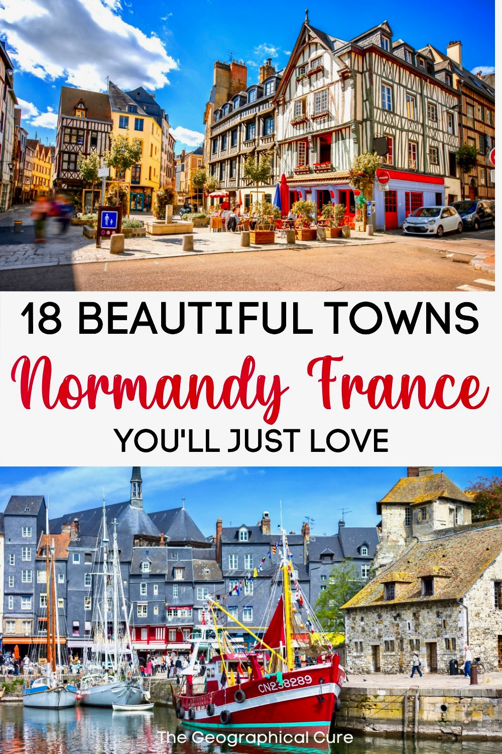 guide to Normandy's most beautiful towns