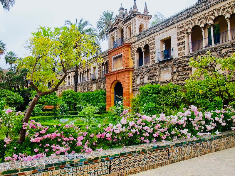 Italian Grotto Gallery in the Alcázar Gardens
