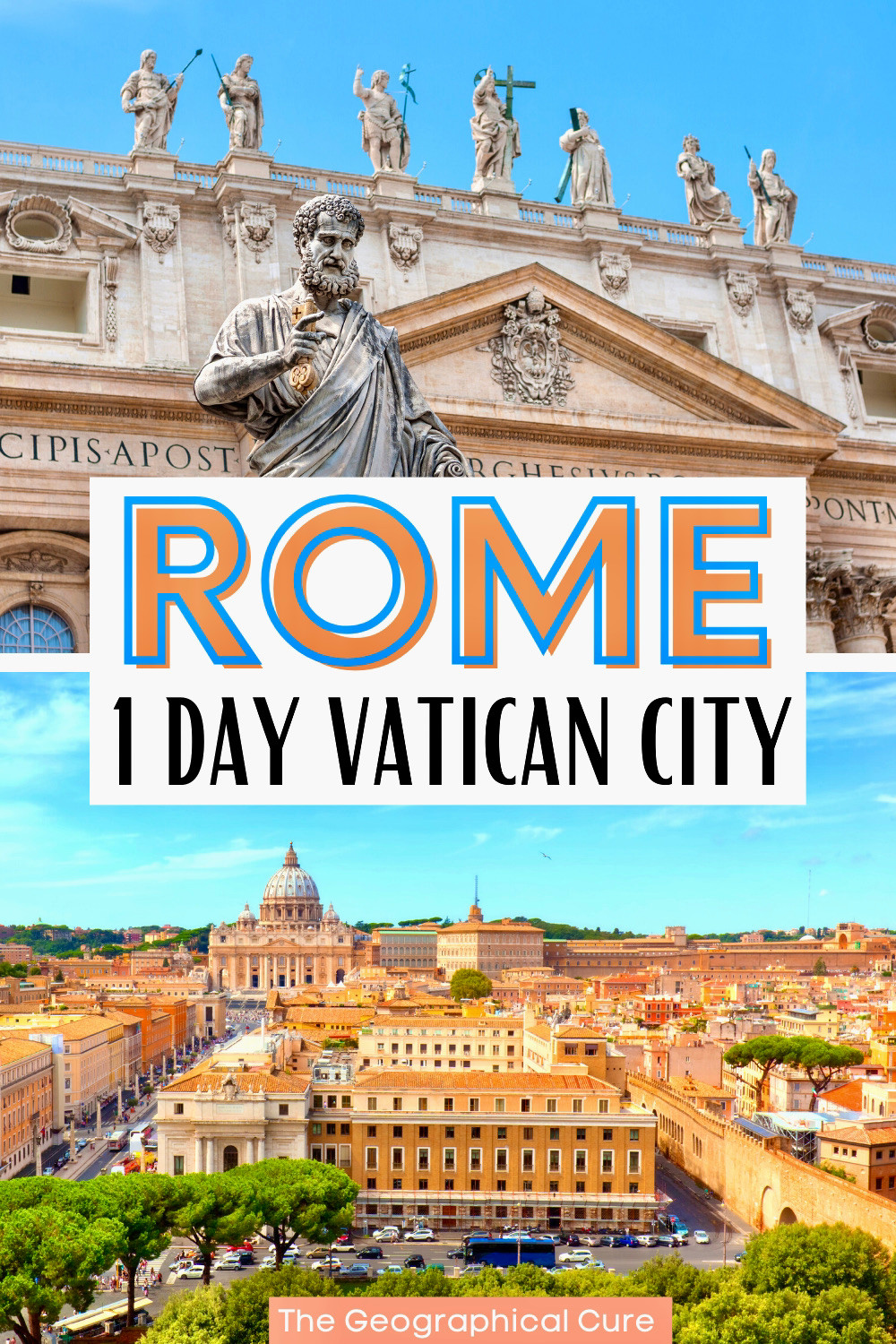 one day itinerary for visiting Vatican City