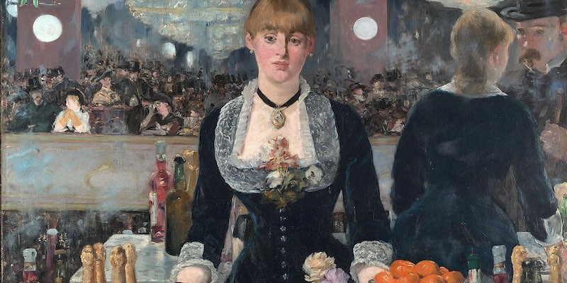 Edouard Manet, Bar at the Folies-Bergère, 1882