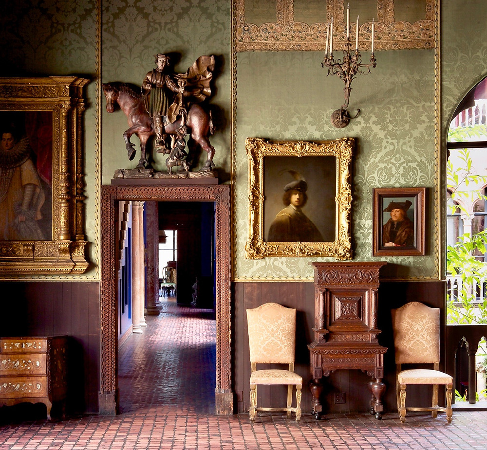 the Dutch Room of the Isabella Stewart Gardner Museum