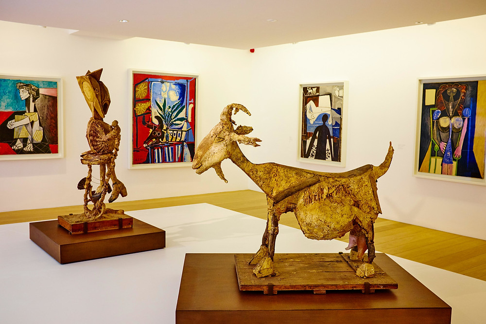 gallery in Paris' Picasso Museum in Paris