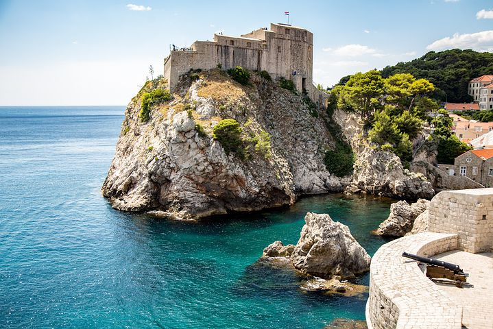 Fort Loverijenac in Dubrovnik, which doubles as the Red Keep in Game of Thrones
